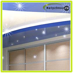 Двухуровневые потолки с подсветкой по периметру