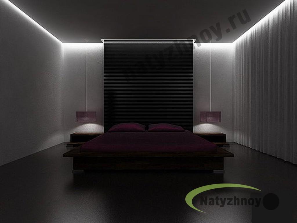 Дизайн потолка с подсветкой фото